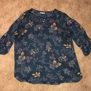 Fall chiffon dress shirt